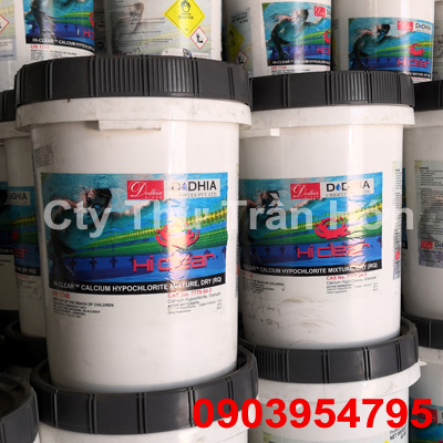 CALCIUM HYPOCHLORIDE Ca(OCL)2 / HI - CLEAR / CHLORIN ẤN ĐỘ