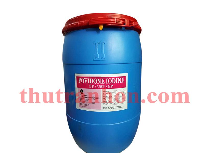 POVIDONE IODINE (PVP - IODINE)