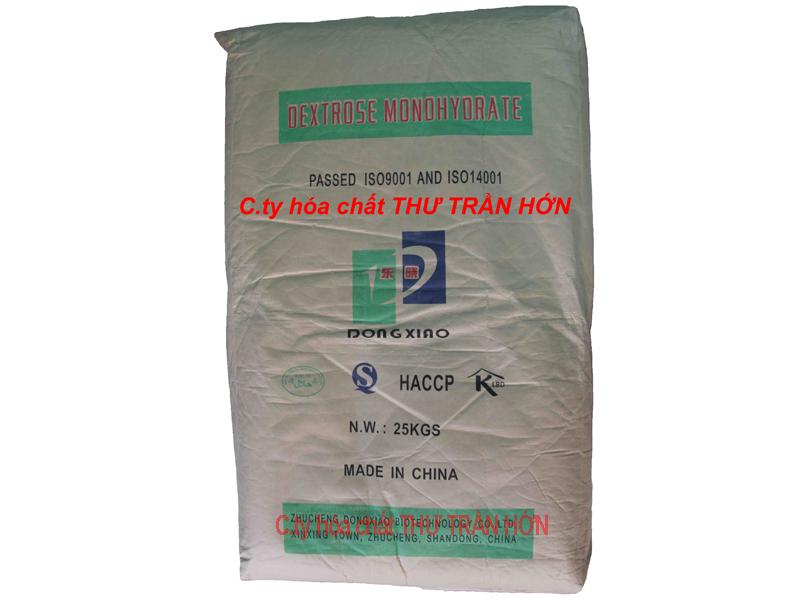 DEXTROSE MONOHYDRATE – ĐƯỜNG DEXTROSE - C6H12O6.H2O